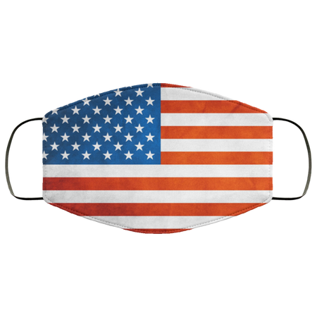 American US Flag Face Mask - Men Women