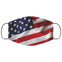 United States Flag Face Mask - Men Women