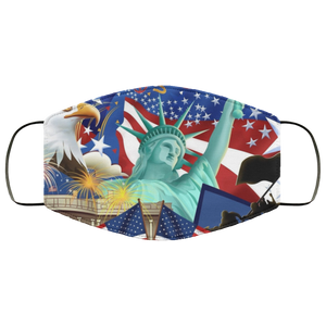 United States of America Face Mask - Men Women