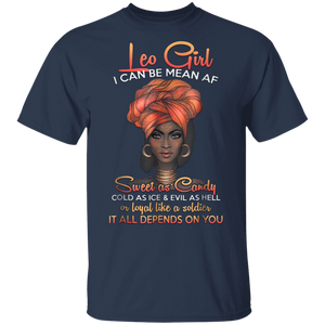 Leo Queens Are Born in July 23 -August 22 T-shirt G500 5.3 oz. T-Shirt