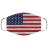 Logo USA Flag Face Mask Filter - Men Women