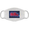 Ole Miss Rebels Live Face Mask - Men Women