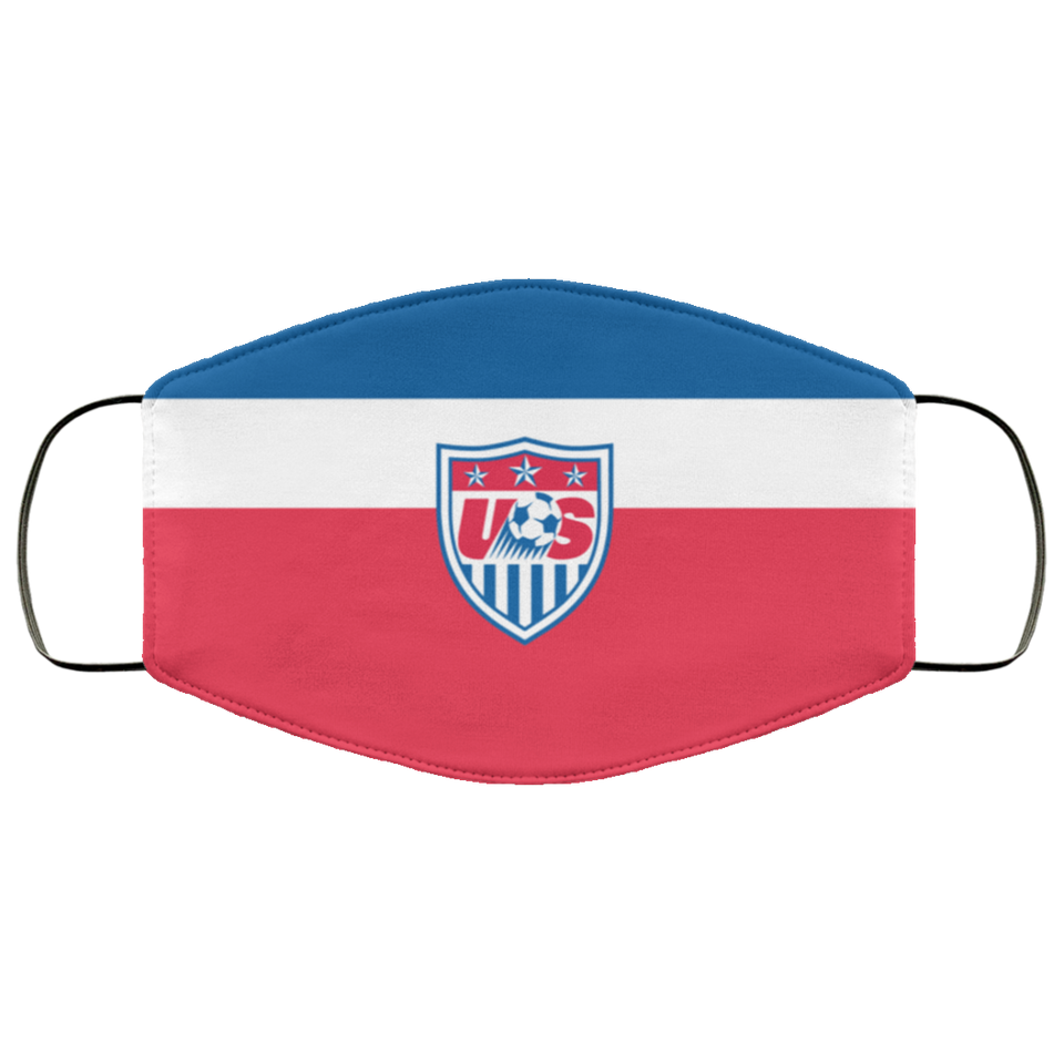 US Soccer New Mandates Face Mask - Men Women