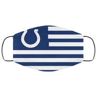 Indianapolis Colts Face Mask Flag - Men Women