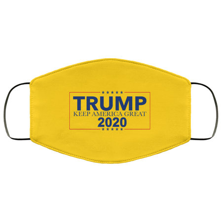 Trump 2020 Keep America Great Face Mask - Men Women