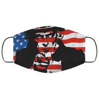 Uncle Sam & Usa Face Mask - Men Women