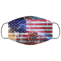 cool american flags Face Mask - Men Women