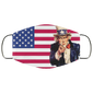Uncle Sam Flag us Face Mask - Men Women