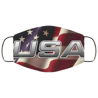 U S Flag Us Face Mask - Men Women