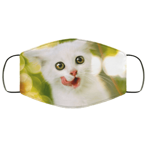 Cat Beautiful and Lovely Animals Face Mask