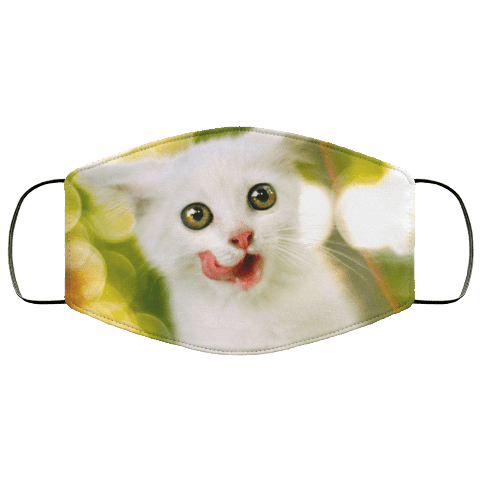 Cat Beautiful and Lovely Animals Face Mask - Teekoc