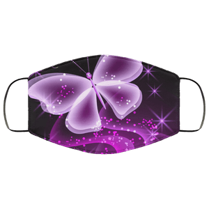 Abstract Butterfly Face Mask - Teekoc