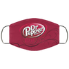 Dr Pepper Face Mask – Adults Mask - Men Women