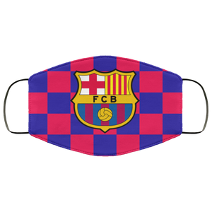 Barcelona FC Face Mask – Adults Mask - Men Women