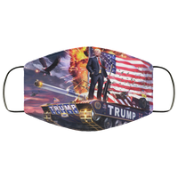 Trump 2020 Face Mask - Men Women