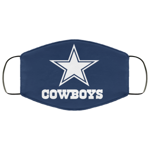 Dallas Cowboys Face Mask - Men Women