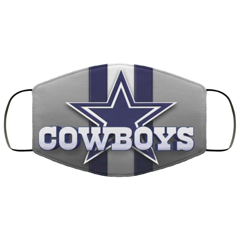 Selling Dallas Cowboys cloth face mask - Men Women