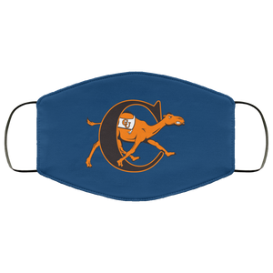 Campbell Fighting Camels Logo Face Mask - Men Women