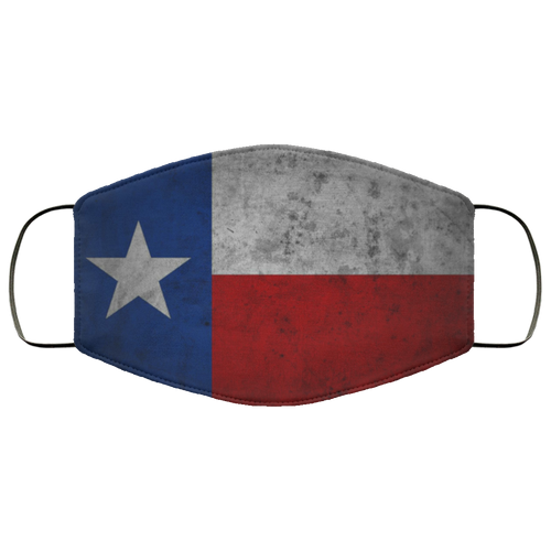 Texas Flag Cloth Face Mask - Men Women