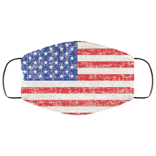 American flag Face Mask - Men Women