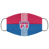 US Soccer Team Face Mask - Men Women