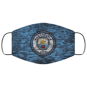 Manchester City Logo Face Mask - Men Women