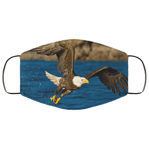 american bald eagle-Cute animals Face Mask
