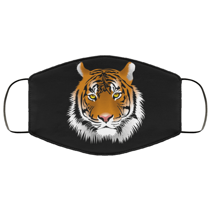 Big cats Tigers Face Mask - Teekoc