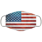 American Flag Wallpaper Face Mask - Men Women