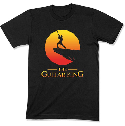 The Guitar King - T Shirt - GD-06 - Men Women