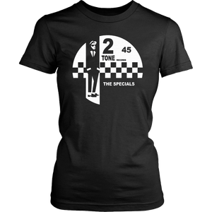 2 Tone Records Shirt – The Specials Ska Label Logo Shirt - Men Women