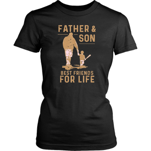 Father And Son Best Friends For Life Baseball t shirt - Men Women