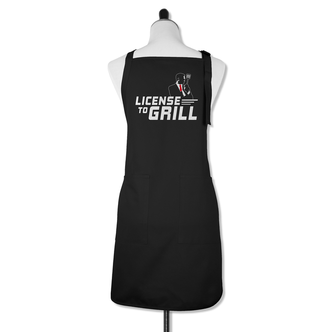 License To Grill - Apron - Men Women