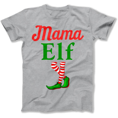 Mama Elf - T Shirt - Men Women