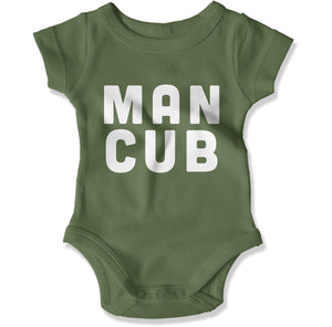 Man Cub - Baby Bodysuit - Men Women
