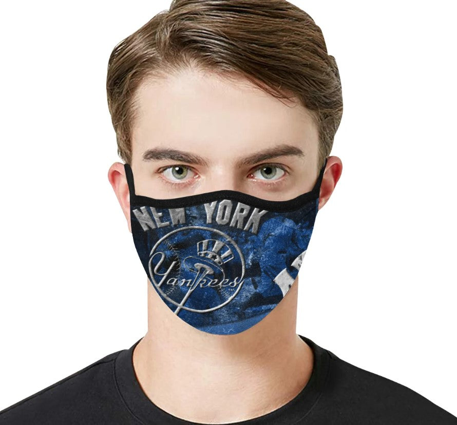 Ny Yankee New York Yankees Face Mask Filter - Men Women