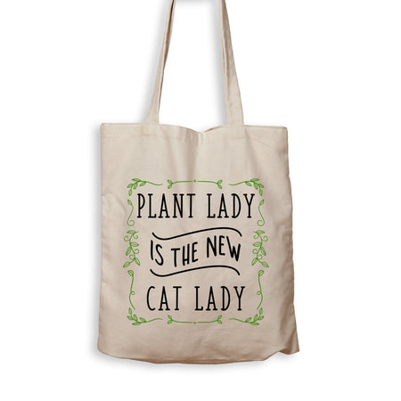 Plant Lady Is The New Cat Lady - Tote Bag - Men Women