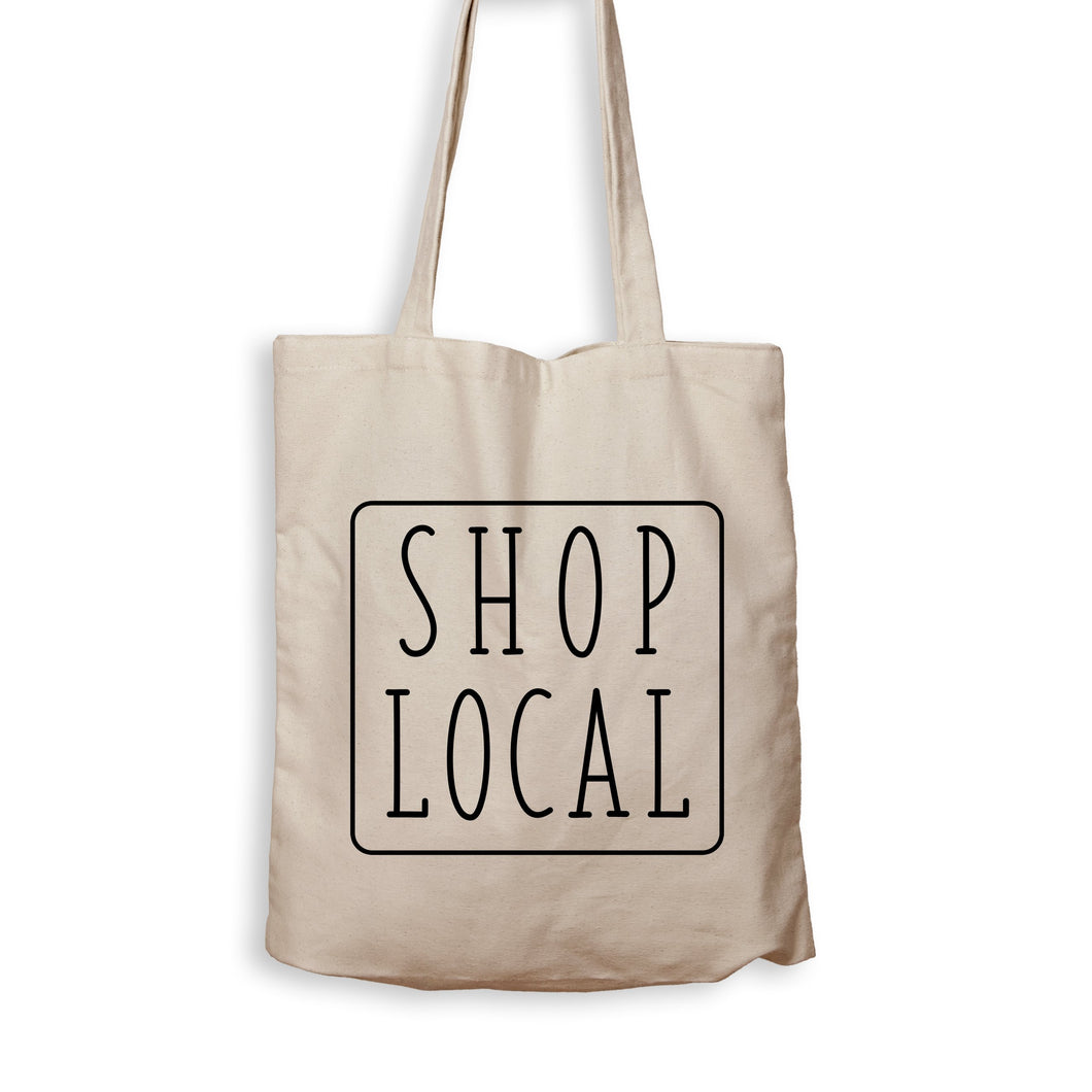 Shop Local - Tote Bag - Men Women