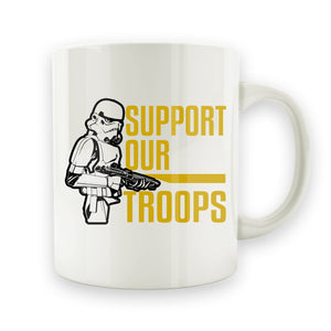 Support Our Troopers - 15oz Mug - Men Women