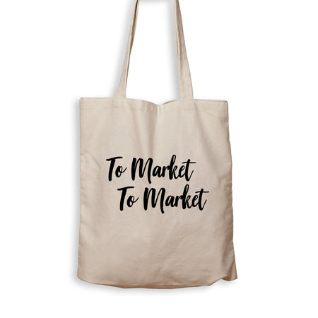 To Market, To Market - Tote Bag - Men Women