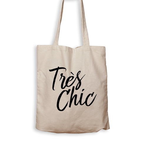 Tres Chic - Tote Bag - Men Women