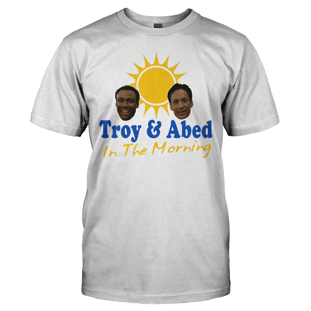 Troy & Abed In The Morning - T Shirt - Men Women