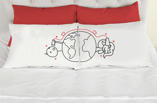 Around The World Pillow Cases - VAL-01-02 - Men Women
