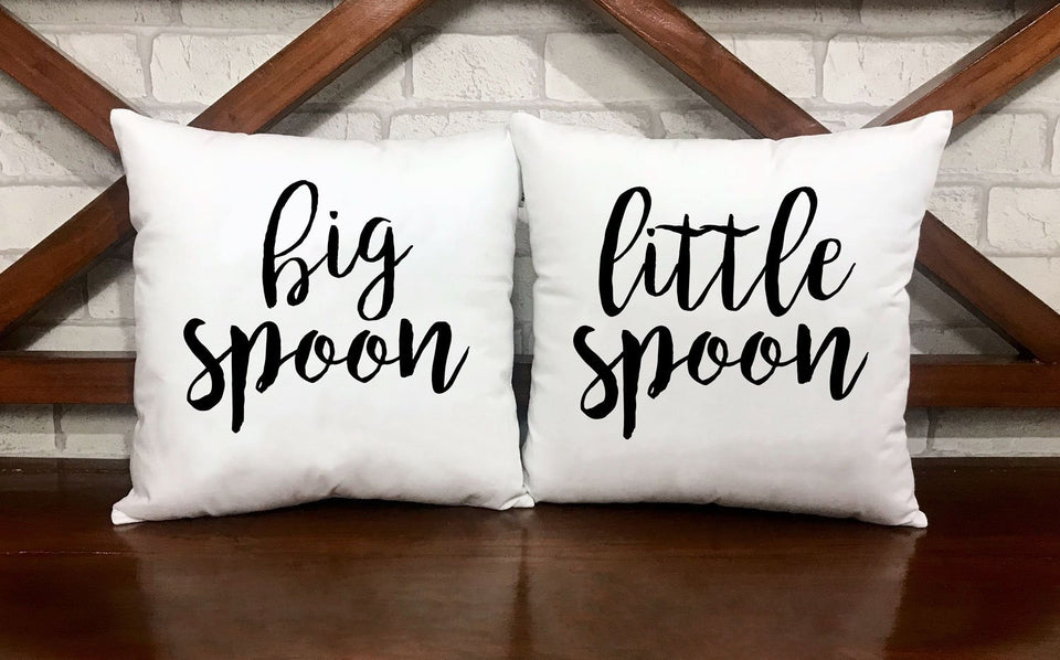 Big Spoon / Little Spoon Pillow Cases - VAL-23-24 - Men Women