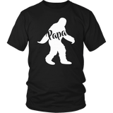Papa Squatch Shirt Gifts For Dad Sasquatch Bigfoot T-Shirt - Men Women