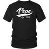 Mens Vintage Pepe Grandpa Est. 2020 New Grandfather t shirt - Men Women