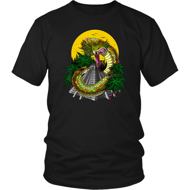 Quetzalcoatl Aztec God Feathered Shirt - Men Women