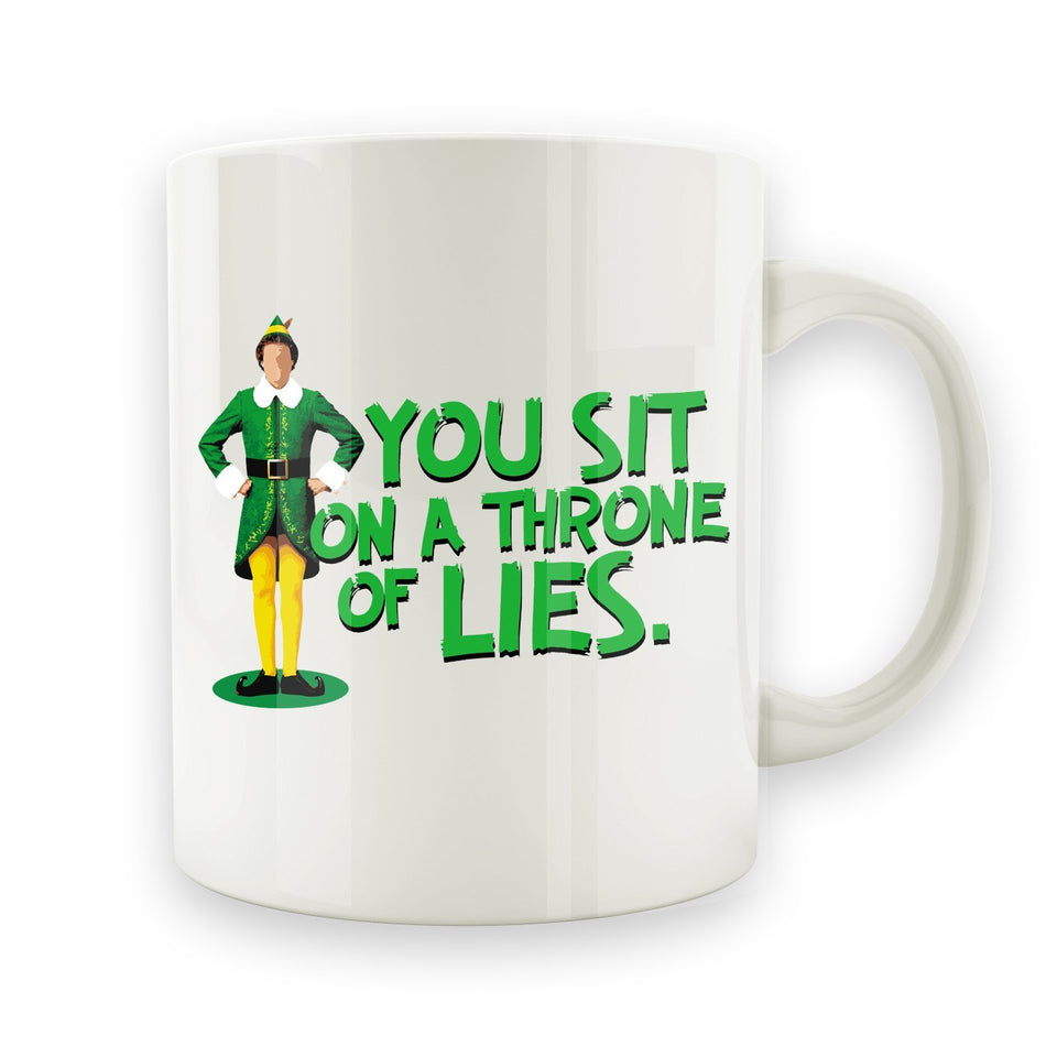 You Sit On A Throne Of Lies - 15oz Mug - Men Women