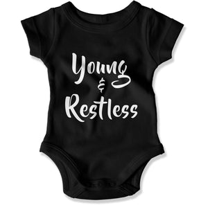 Young and Restless - Baby Bodysuit - Men Women