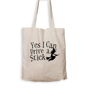 Yes I Can Drive A Stick - Tote Bag - Men Women